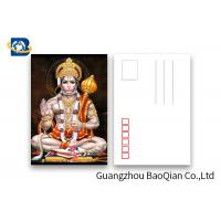 Wholesale 5D Effect Indian God 3D Lenticular Postcards For Souvenirs/ Promotional Gift from china suppliers