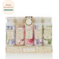 Womens Bubble Bath Gift Sets 305ml Shower Gel 200ml Body Lotion ODM Service for sale