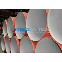 Wholesale ASTM A312 Welded Pipe Plain Ends , Stainless Steel Thin Wall Pipe With RT from china suppliers