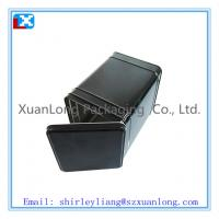 Wholesale small square metal tea tin box from china suppliers