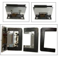 """Wholesale Corner 90 degree shower door hinge difference Glass cut -cut """"C"""" hole from china suppliers"""