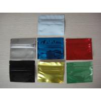 China 3''x4'' Colorful Top Feed Foil Zip lock Bag Potpourri Pouches , Mylar Zipper Bag on sale