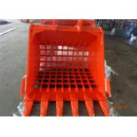 Wholesale Doosan DX480 Skeleton Rock Bucket / Excavator Bucket Attachments Q345B Material from china suppliers