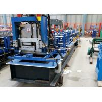 China Metal Structure C / Z / U Purlin Roll Forming Machine to Make C / Z / U Shape on sale