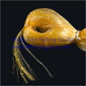 Buy cheap 0.20mm*6ply nets,Nylon multi-mono fishing nets,germany material,shine yellow from wholesalers