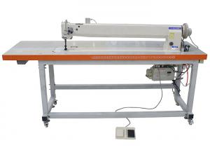 Wholesale 1041mm Long Arm Heavy Duty 11mm Double Needle Sewing Machine from china suppliers