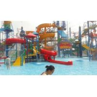 Wholesale Wizard Paradise 304 Stainless Steel Water Park Playground 45 * 40 M For Kids from china suppliers