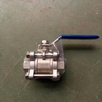 China 2pc female thread ball valve pn16 dn50 stainless steel 304 price for sale