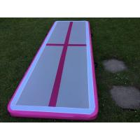 Quality 5M Air Track Gymnastics Mat For Outdoor , Inflatable Gymnastics Floor for sale