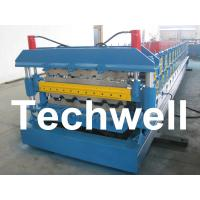 Wholesale Automatic PLC Control Dual Level Roll Forming Machine With Manual / Automatic Decoiler from china suppliers