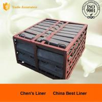 Wholesale Cr-Mo Steel Boltless Mill Lining System , Powder Or Slurry No Leakage from china suppliers