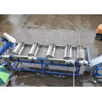 Custom Voltage Plastic Washing Line High Capacity 150-200 kg/h 45kw Crusher for sale