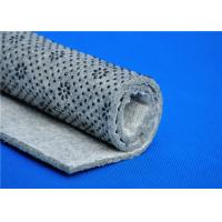 Quality Needle Punched Nonwoven Carpet Underlay Felt Laying Cloth with Plastic Dots for sale
