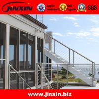 Quality Stainless steel handrails for outdoor steps banisters for sale