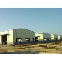 China Structural Steel Framing / Q235B / Q355B Material Light Steel Structure Warehouse for sale