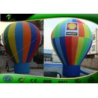Wholesale Custom multicoloured Commercial Inflatable Advertising Balloons , Air Balloon For Advertising from china suppliers