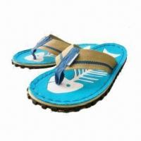 Wholesale Canvas Slipper, Made of TPR Sole, Canvas Upper, All Harmless Materials, RoHS Directive-compliant from china suppliers