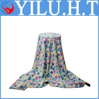 China new beatiful cheap embossed jacquard coral fleece blankets for sale on sale