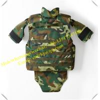 Wholesale NIJ level 4 forest woodland camo bullet proof jacket military tactical vest body armor from china suppliers