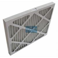 Wholesale Galvanized Prime High Flow Air Filter Non Woven Cloth Filter Media 95% Efficiency from china suppliers