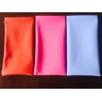 Wholesale Dust Proof Waterproof Eyeglass Cases Soft Leather Glasses Pouch XY-S106 from china suppliers