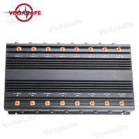China 5.8G Full Band Wifi Signal Jammer Device , Wifi Blocker Jammer 42W Total Output on sale