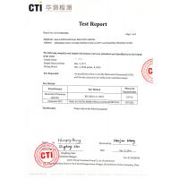 NOVA(CHINA) INDUSTRY CO.,LIMITED Certifications