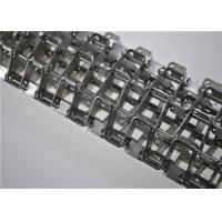 Wholesale Stainless Steel Honeycomb Wire Mesh Conveyor Belt Flat Wire Belt Customized Size from china suppliers