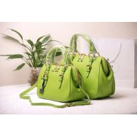 Wholesale leather fashion lady bowing handbag from china suppliers