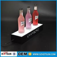 Wholesale factory direct sale clear display holder stand, laser cutting thick acrylic customized led base from china suppliers