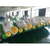 Wholesale 3*2*1.5m Green Inflatable Seesaw / Blow Up Toys For Pool In Hot Summer from china suppliers