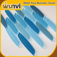 Buy cheap Popular Blue Strip Mosaic Tiles backsplash acid-proof for wall from wholesalers