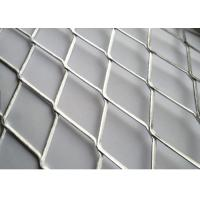 Wholesale Diamond Shape Aluminum / Ss304 Expanded Metal Mesh Security Mesh Fence from china suppliers