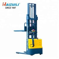 Buy cheap 1500KG 3000MM Electric Pallet Stacker For Loading And Unloading Materials from wholesalers
