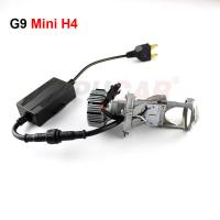 Buy cheap 2018 NEW Arrival H4 mini LED Projector lens 7000 lumen H4 high low beam led lens LED Headlight from wholesalers