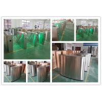 Blue Wing Retractable Flap Barrier Gate Widely Used Airport Railway Station