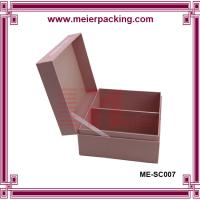 Wholesale Cardboard paper gift box with hinge lid/Clamshell paper box/Underwear packaging paper box ME-SC007 from china suppliers