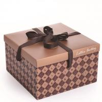 Buy cheap Best Quality Food Grade Paper Made Cake Packaging Box from wholesalers