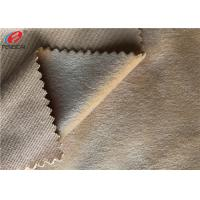 Wholesale 100% Polyester Super Soft Minky Plush Fabric DTY / FDY Velboa Knitted Fabric from china suppliers
