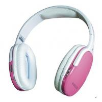 Quality Pink TF Card Wireless Headphone, 3.5mm Audio Port Universal for Mp3, Mp4, Mobile for sale