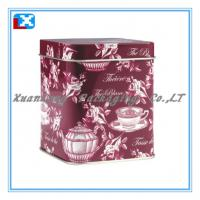 Wholesale food grade tea packaging gift tin box wholesale from china suppliers