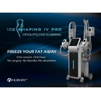 China 4 Cryo Handles Cellulite Body Treatment Professional coolscupting cryolipolysis body slimming machine for sale for sale