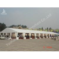 Wholesale 20M Span Large Outdoor Party Tents For Rent , Aluminium Frame White Party Marquee from china suppliers