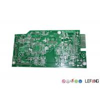 Buy cheap 94V0 2 Layers Single Sided Copper Clad PCB Board For Automotive GPS System from wholesalers