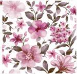 Water Color Floral Design Heat Transfer Printing Paper 4.5 Wash Color Fastness