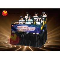 Wholesale 9 / 12 Seat Motion 6D Movie Theater 6D Simulator With Racing Seats from china suppliers