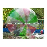 China Colorful 0.8mm PVC Inflatable Walking Water Ball Person Sized Hamster Ball on sale