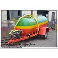 China full tank trailer farming tractor water small farm tractor transport water tank trailer for sale