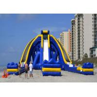 Wholesale Amazing Large Inflatable Slide / Giant Inflatable Pool Slide For Child from china suppliers