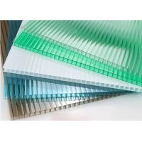 Wholesale Roofing 10mm Polycarbonate Sheet Twin Wall Clear Co - Extrension Technology from china suppliers
